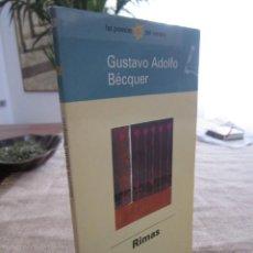 Libros de segunda mano: RIMAS. GUSTAVO ADOLFO BECQUER. BIBLIOTECA EL MUNDO. 30. 1998. Lote 277191303
