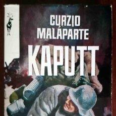 Libros de segunda mano: KAPUTT (CURZIO MALAPARTE) PLAZA Y JANÉS RENO. Lote 277304673