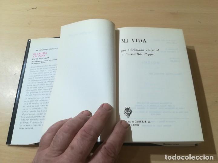 Libros de segunda mano: MI VIDA / CRISTIAAN BARNARD / PLAZA JANES / AK58 - Foto 8 - 277501618