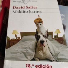 Libros de segunda mano: DAVID SAFIER - MALDITO KARMA. Lote 277533943