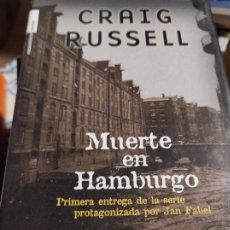 Libros de segunda mano: MUERTE EN HAMBURGO - CRAIG RUSSELL - ROCA EDITORIAL. Lote 277534553
