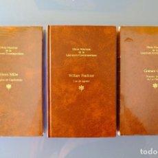 Libros de segunda mano: TROPICO DE CAPRICORNIO. LUZ DE AGOSTO.NUESTRO HOMBRE EN LA HABANA.GRAHAM GREENE,FAULKNER,HENRY MILER. Lote 277534943