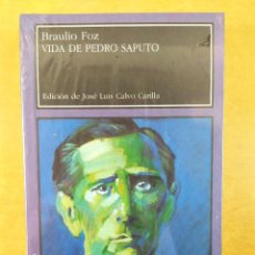 Libros de segunda mano: VIDA DE PEDRO SAPUTO / BRAULIO FOZ / LARUMBE. / PRECINTADO. Lote 277562113