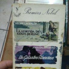 Libros de segunda mano: LIBRO PREMIOS NOBEL SELMA LACERÖF, JOHN CALSWORTHY, RUDYARD KIPLING 1963 ED. G.P. L-27013. Lote 277634898