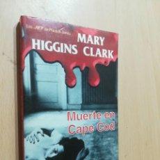 Libros de segunda mano: MUERTE EN CAPE COD / MARY HIGGINS CLARK / PLAZA JANES / AL82. Lote 277647118