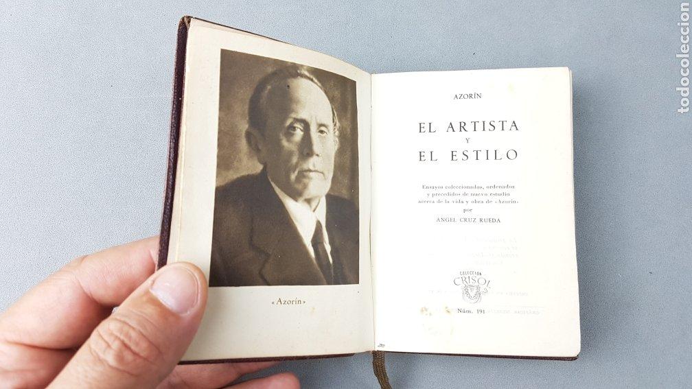 Libros de segunda mano: AZORÍN. EL ARTISTA Y EL ESTILO. AGUILAR. COLECCIÓN CRISOL NUMERO 191. PRIMERA EDICIÓN - Foto 4 - 277843673