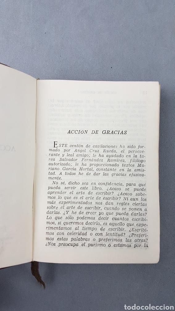 Libros de segunda mano: AZORÍN. EL ARTISTA Y EL ESTILO. AGUILAR. COLECCIÓN CRISOL NUMERO 191. PRIMERA EDICIÓN - Foto 5 - 277843673