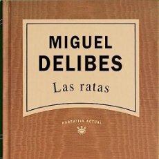 Libros de segunda mano: LAS RATAS - MIGUEL DELIBES. Lote 278221653