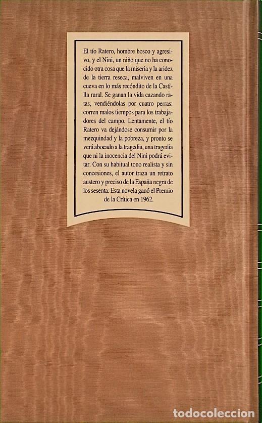 Libros de segunda mano: Las ratas - Miguel Delibes - Foto 2 - 278221653