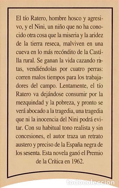 Libros de segunda mano: Las ratas - Miguel Delibes - Foto 3 - 278221653