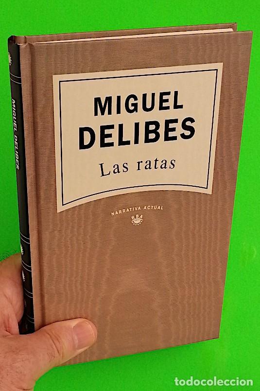 Libros de segunda mano: Las ratas - Miguel Delibes - Foto 4 - 278221653