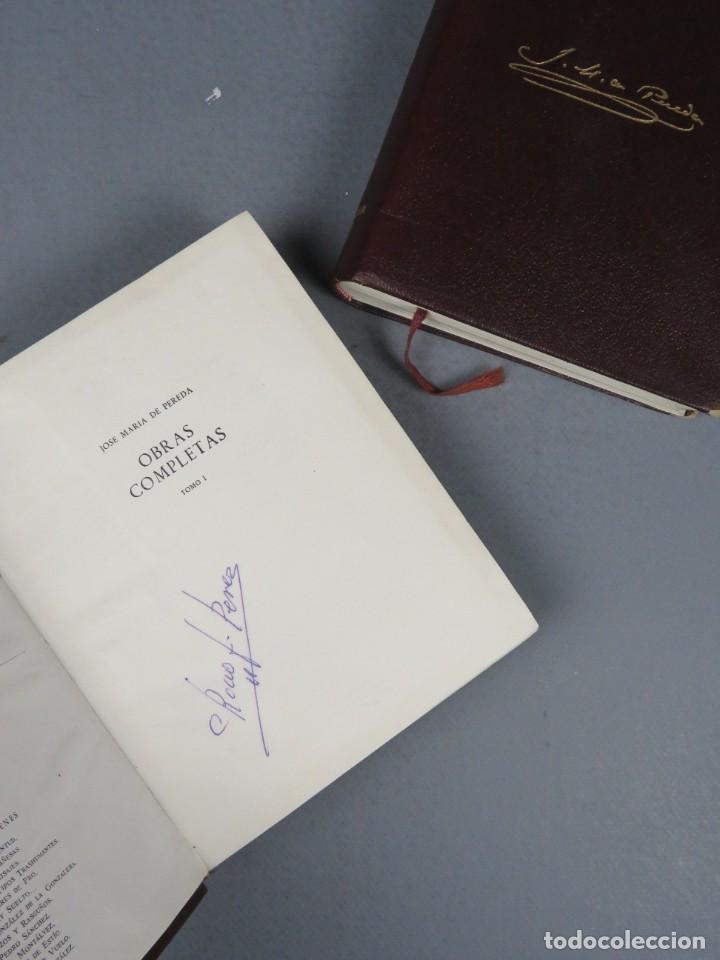 Libros de segunda mano: JOSÉ MARÍA DE PEREDA OBRAS COMPLETAS - II TOMOS - AGUILAR 1964 - Foto 3 - 278325058