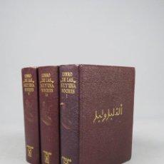Libros de segunda mano: LIBRO DE LAS MIL Y UNA NOCHES - III TOMOS - AGUILAR 1971. Lote 278325803