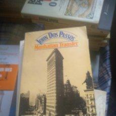 Libros de segunda mano: MANHATTAN TRANSFER. DOS PASSOS. Lote 278325883