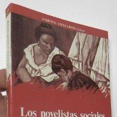 Libros de segunda mano: LOS NOVELISTAS SOCIALES ESPAÑOLES (1928-1936) ANTOLOGÍA - J. ESTEBAN, G. SANTONJA. Lote 278450278