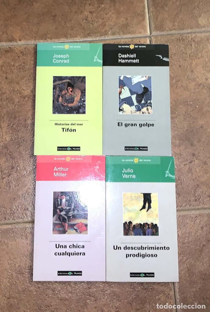 Libros de segunda mano: 33 libros de colección Novelas del verano - Foto 2 - 278639338