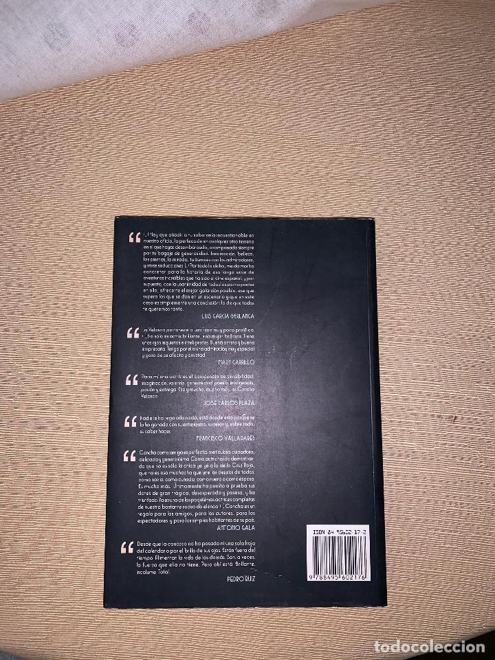 Libros de segunda mano: Concha Velasco. Diario de una actriz Andrés Arconada - Foto 2 - 278641273