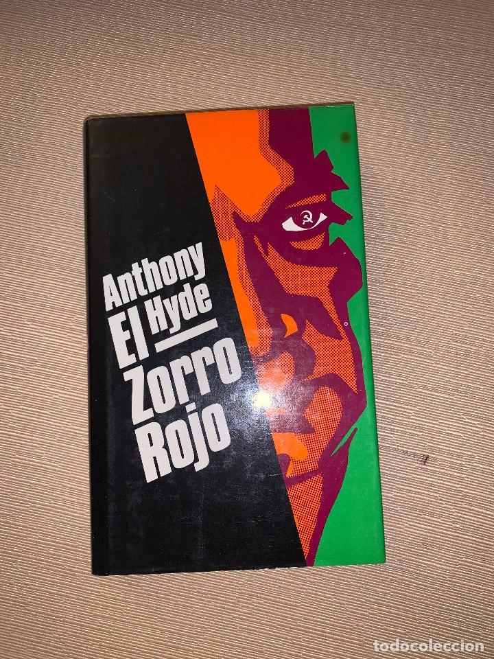 'EL ZORRO ROJO' DE ANTHONY HYDE (Libros de Segunda Mano (posteriores a 1936) - Literatura - Narrativa - Otros)