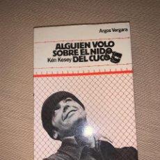 Libros de segunda mano: 'ALGUIEN VOLÓ SOBRE EL NIDO DEL CUCO' DE KEN KEY. EDITORIAL ARGOS VERGARA. Lote 278641803