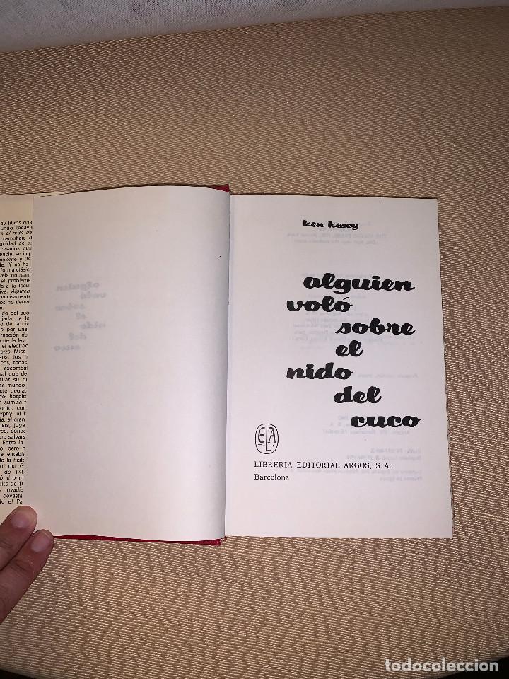 Libros de segunda mano: Alguien voló sobre el nido del cuco de Ken Key. Editorial Argos Vergara - Foto 2 - 278641803
