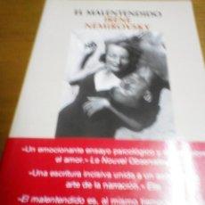 Libros de segunda mano: EL MALENTENDIDO, IRENE NEMIROVSKY. Lote 278939453