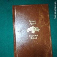 Libros de segunda mano: IGNACIO AGUSTI. MARIONA REBULL. PLANETA 1985.. Lote 279377888