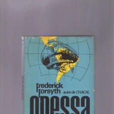 Libros de segunda mano: FREDERICK FORSYTH   LIBRO ODESSA. Lote 279593643