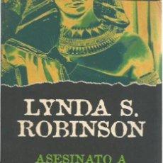 """Libros de segunda mano: LIBRO, """"ASESINATO A ORILLAS DEL NILO"""", DE DE LINDA S. ROBINSON, ED PLAZA & JANES 1997. Lote 280124898"""