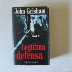 Livres d'occasion: LEGÍTIMA DEFENSA - JOHN GRISHAM (CÍRCULO DE LECTORES). Lote 283347403