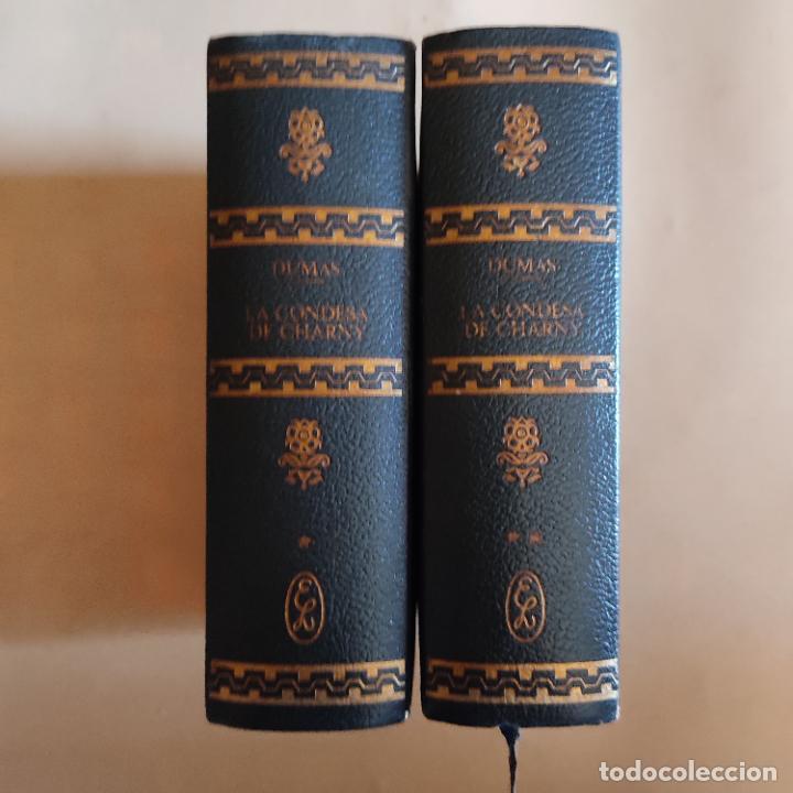 Libros de segunda mano: LA CONDESA DE CHARNY. 2 TOMOS. ALEJANDRO DUMAS. EDITORIAL LORENZANA. 1970. 920-880 PAGS. - Foto 2 - 283484603