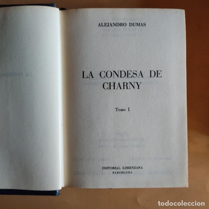 Libros de segunda mano: LA CONDESA DE CHARNY. 2 TOMOS. ALEJANDRO DUMAS. EDITORIAL LORENZANA. 1970. 920-880 PAGS. - Foto 3 - 283484603
