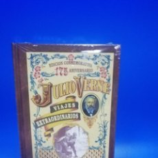Libros de segunda mano: JULIO VERNE. VIAJES EXTRAORDINARIOS. LAS INDIAS NEGRAS. 175 ANIVERSARIO. NUEVO PRECINTADO.. Lote 284106193