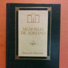 Libri di seconda mano: MEMORIAS DE ADRIANO. MARGUERITE YOURCENAR. EDICIONES ORBIS. Lote 285431838