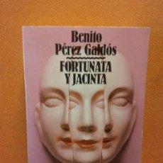 Libros de segunda mano: FORTUNATA Y JACINTA 1. BENITO PEREZ GALDOS. ALIANZA EDITORIAL.. Lote 286605268