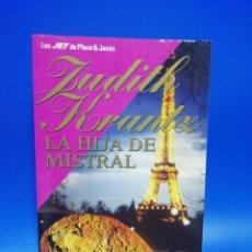 Libros de segunda mano: LA HIJA DE MISTRAL. JUDITH KRANTZ. PLAZA & JANES. 1ª EDICION. 1993. PAGS. 675.. Lote 286619183
