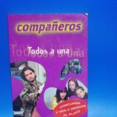 Libros de segunda mano: COMPAÑEROS TODOS A UNA. SALVAT. 2000. PAGS. 156.. Lote 286620728