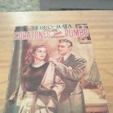 Libros de segunda mano: CORAZONES SIN RUMBO.PEDRO MATA.EDITORIAL TESORO.1951.316 PAGINAS.. Lote 286623118