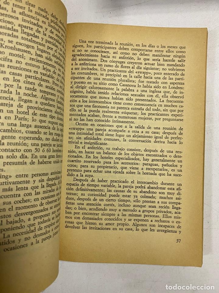 Libros de segunda mano: PRACTICAS DE AMOR EN GRUPO. DR. VALENSIN. A.T.E. BARCELONA, 1977. PAGS: 280 - Foto 3 - 286627283