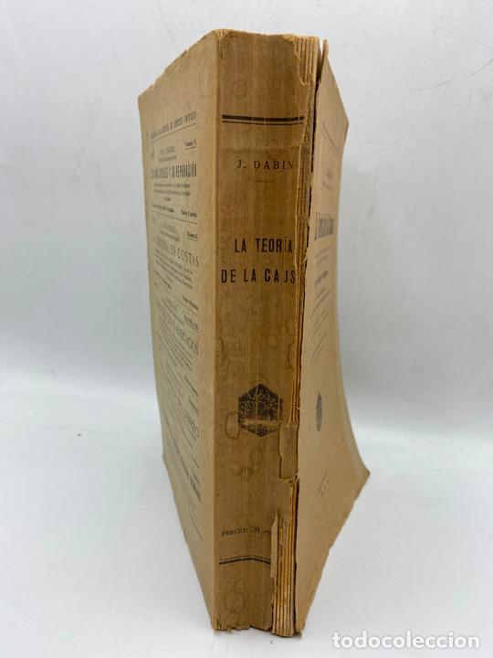 Libros de segunda mano: LA TEORIA DE LA CAUSA. J.DABIN. MADRID, 1929. PAGS: 390. - Foto 4 - 286635683