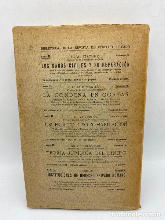 Libros de segunda mano: LA TEORIA DE LA CAUSA. J.DABIN. MADRID, 1929. PAGS: 390. - Foto 5 - 286635683