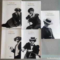 Libros de segunda mano: EL MUNDO DE CLAUDINE - COLETTE - ED. LUMEN- 5 TOMOS. Lote 286695213