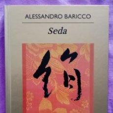 Libros de segunda mano: 2009 LIBRO SEDA. ALESSANDRO BARICCO. EDITORIAL ANAGRAMA. 125 PAG. PASTAS DURAS. Lote 287237508