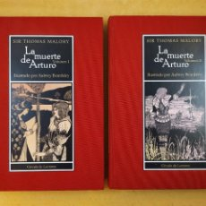 Libros de segunda mano: LA MUERTE DE ARTURO / SIR THOMAS MALORY / 2005. CÍRCULO DE LECTORES. Lote 287421853