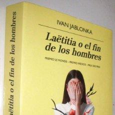 Libros de segunda mano: LAETITIA O EL FIN DE LOS HOMBRES - IVAN JABLONKA. Lote 287579673