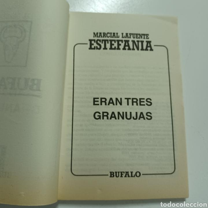 Libros de segunda mano: MARCIAL LAFUENTE ESTEFANIA - ERAN TRES GRANUJAS COLECCION BUFALO N° 456 - Foto 2 - 287790683