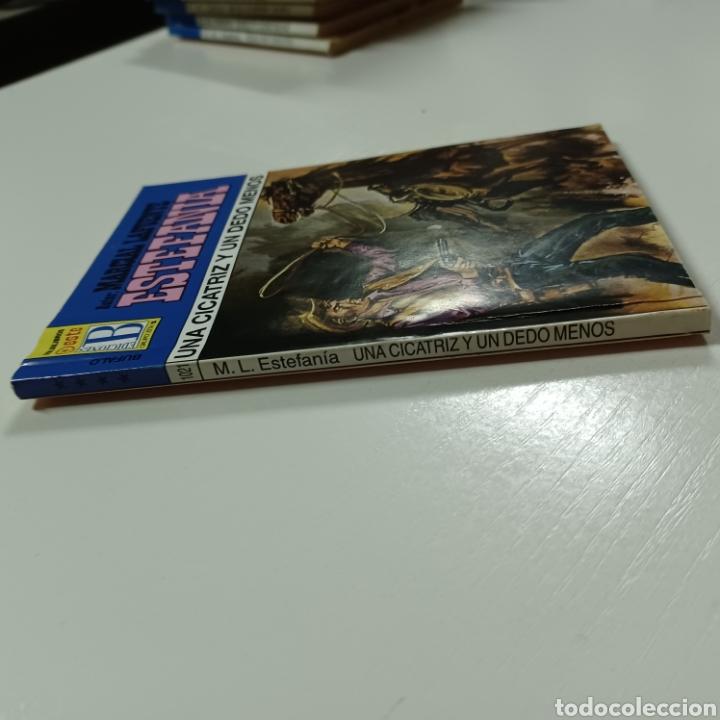 Libros de segunda mano: MARCIAL LAFUENTE ESTEFANIA - UBA CICATRIZ Y UN DEDO MENOS COLECCION BUFALO N° 1021 - Foto 4 - 287790773