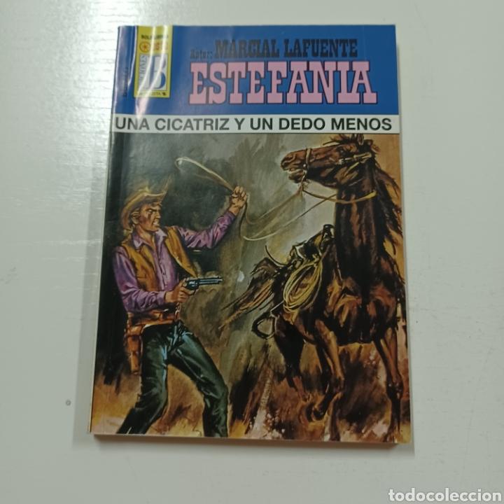 Libros de segunda mano: MARCIAL LAFUENTE ESTEFANIA - UBA CICATRIZ Y UN DEDO MENOS COLECCION BUFALO N° 1021 - Foto 5 - 287790773