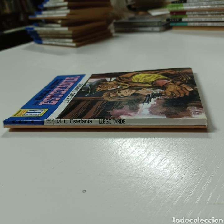 Libros de segunda mano: MARCIAL LAFUENTE ESTEFANIA - LLEGO TARDE COLECCION BUFALO N° 1010 - Foto 3 - 287790923