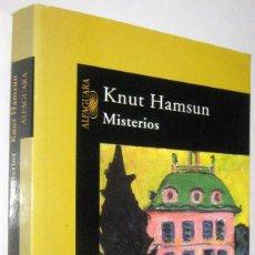 Libros de segunda mano: MISTERIOS - KNUT HAMSUN. Lote 287904663