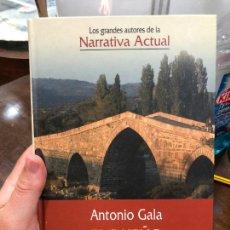 Libros de segunda mano: LIBRO ANTONIO GALA - EL DUEÑO DE LA HERIDA - 454 PAG.. Lote 287914413